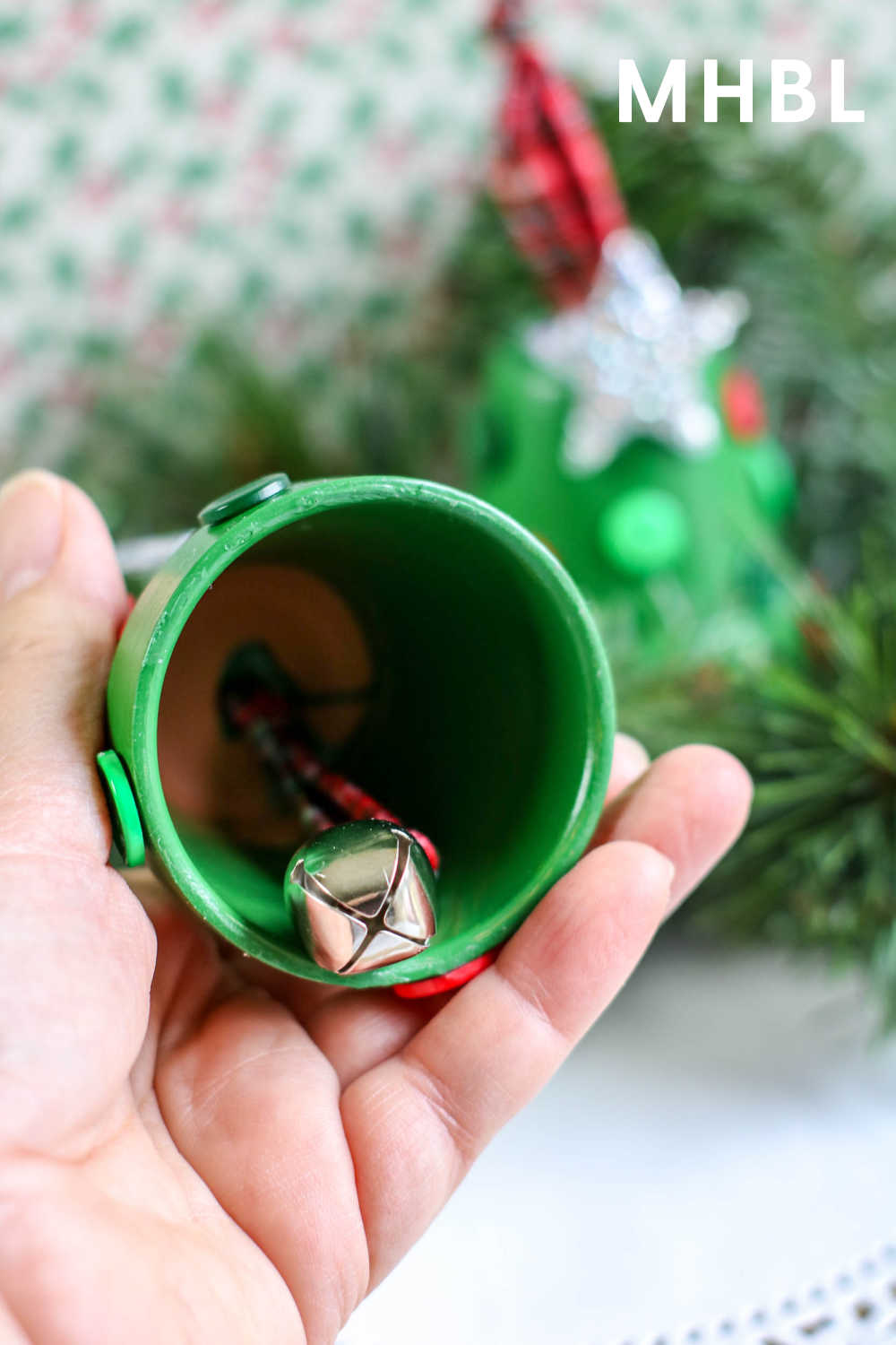 christmas tree bell ornaments