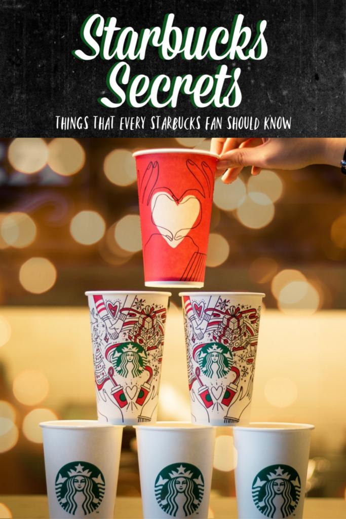 Starbuck secrets - what every true Starbucks fan should know