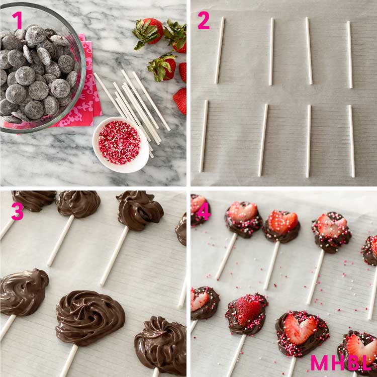 how to make chocolate strawberries