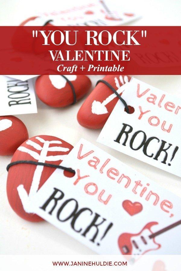 valentine rock craft
