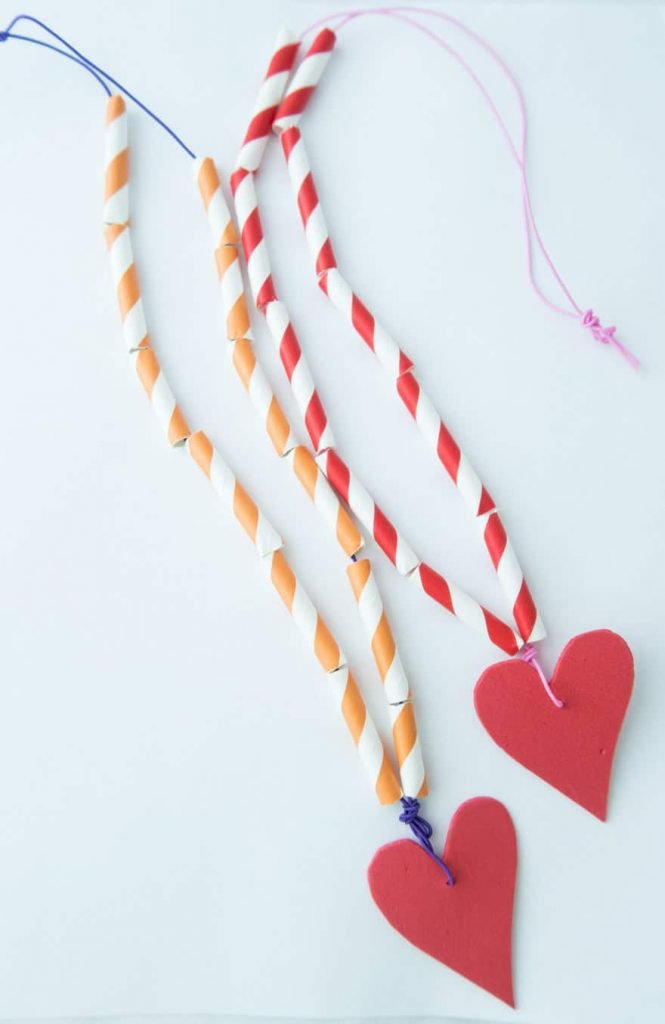 heart necklaces for Valentines