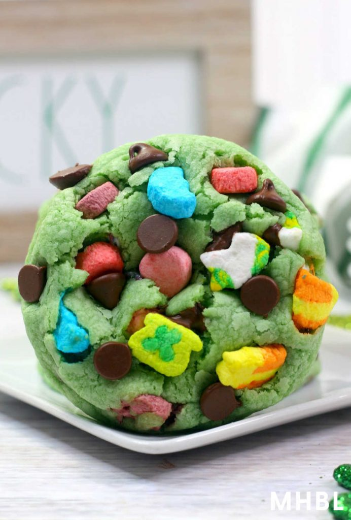lucky charm cookie recipe for St. Patrick's Day