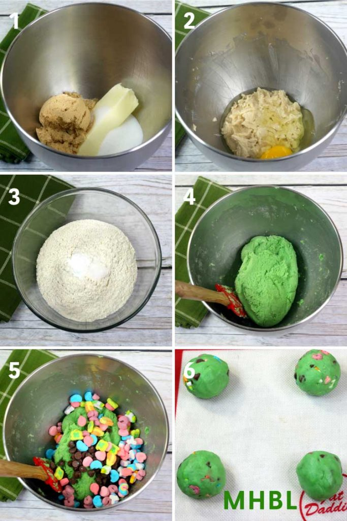 how to make lucky charm cookies