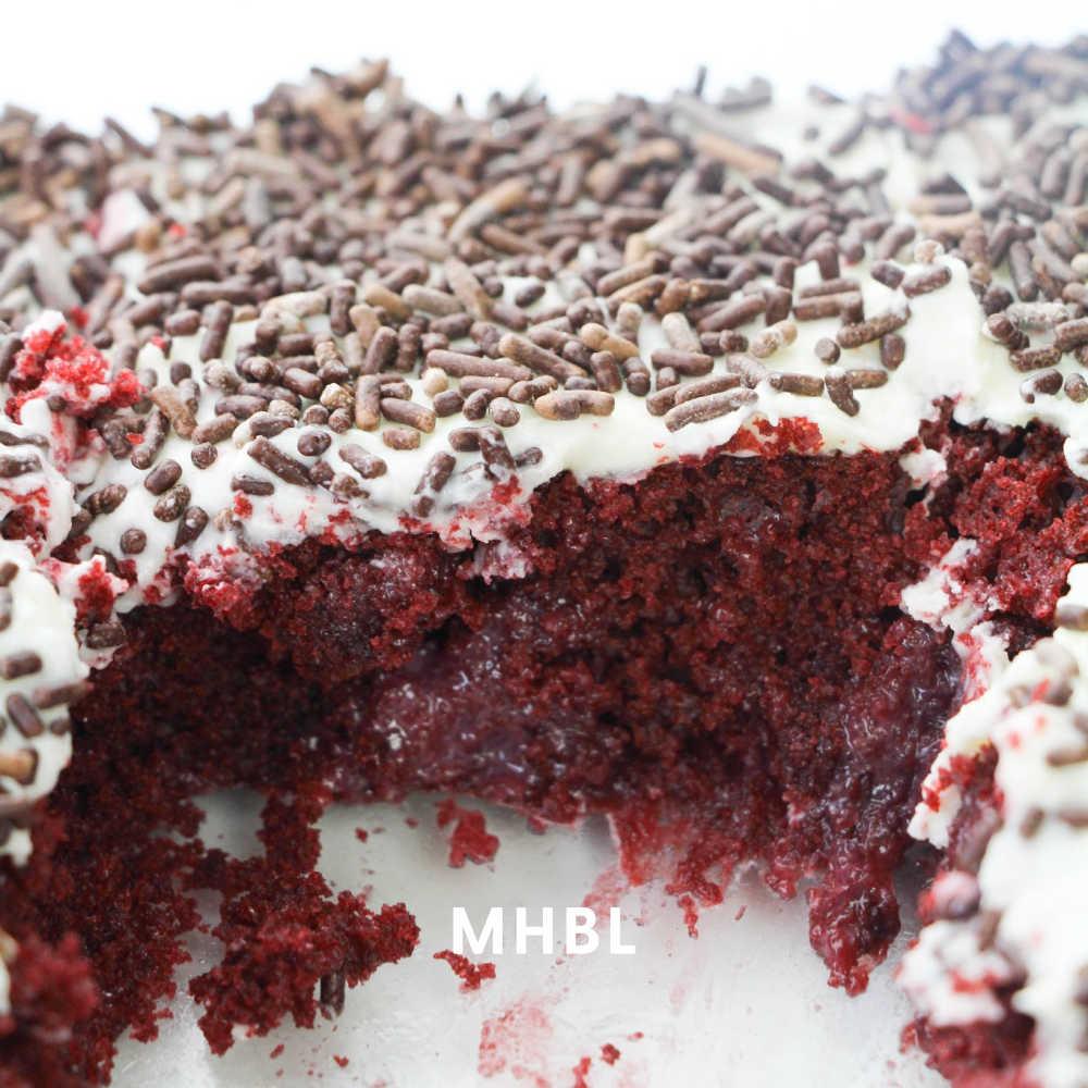 rich and moist poke cake