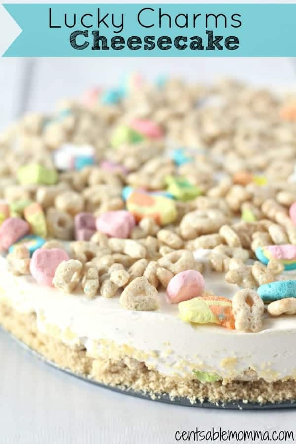 lucky charms cheese cake