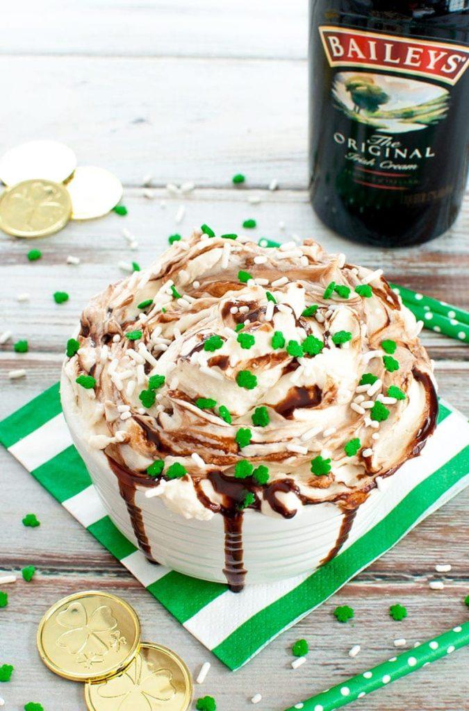 Irish cream dip