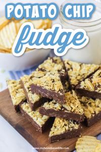 potato chip fudge recipe