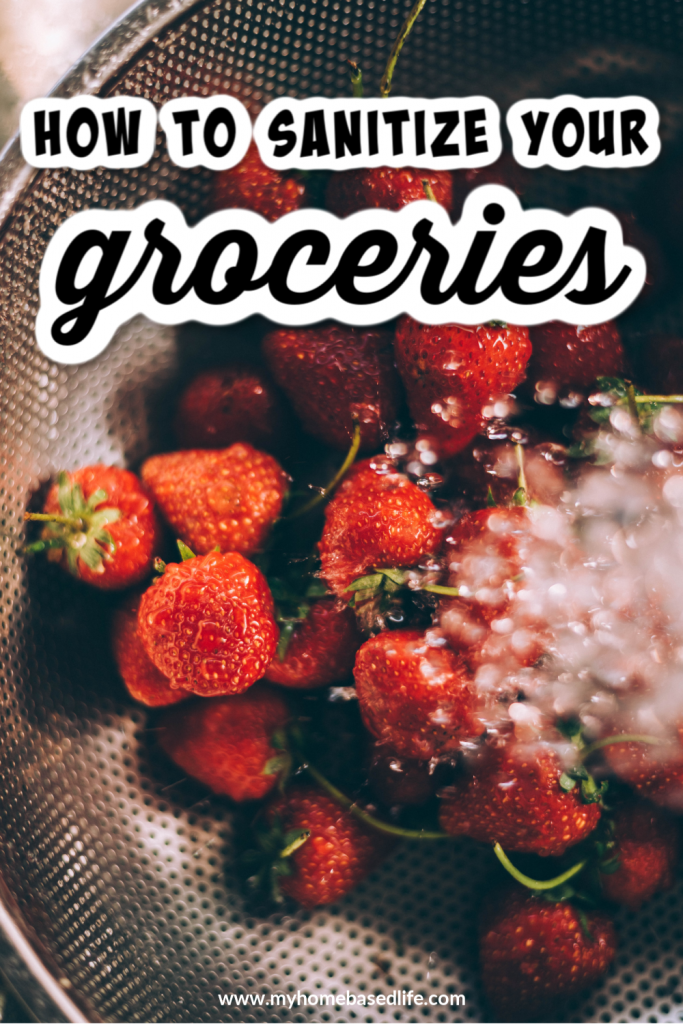 how to sanitize your groceries and stay safe while shopping
