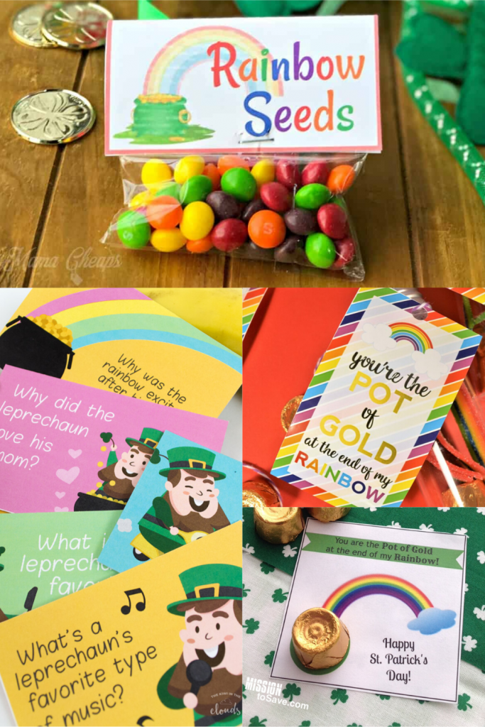 fun and free printables for St. Patrick's Day