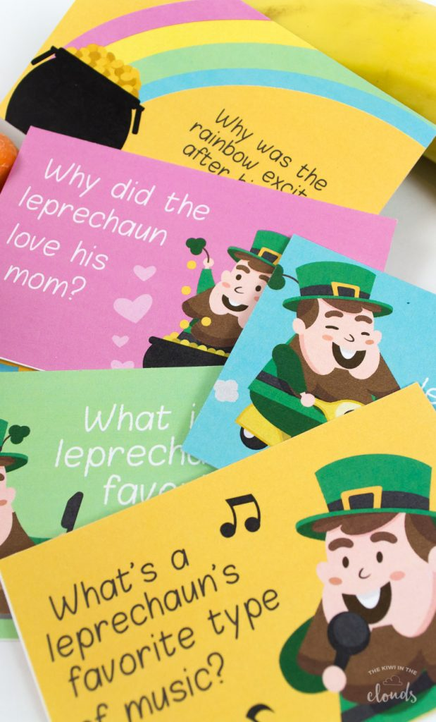 kids printable St Patrick's Day jokes
