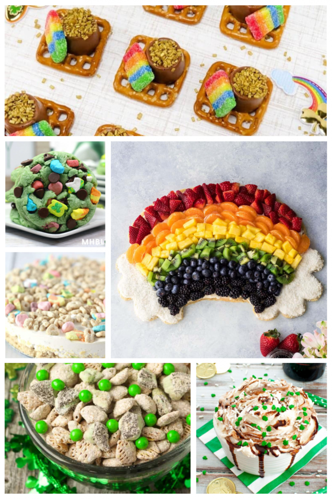St. Patrick's Day party food recipe ideas