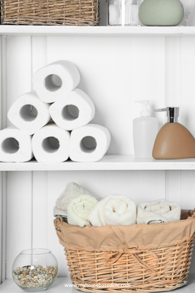 what to do if you run out of toilet paper