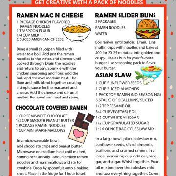 cheap recipes using ramen