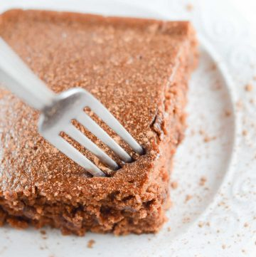 an easy chocolate cake recipe with no milk, eggs, or butter