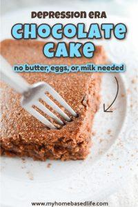 chocolate wacky cake recipe