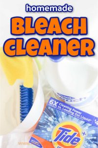 homemade bleach cleaner recipe to disinfect your home