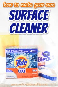 how to make your disinfecting surface cleaner