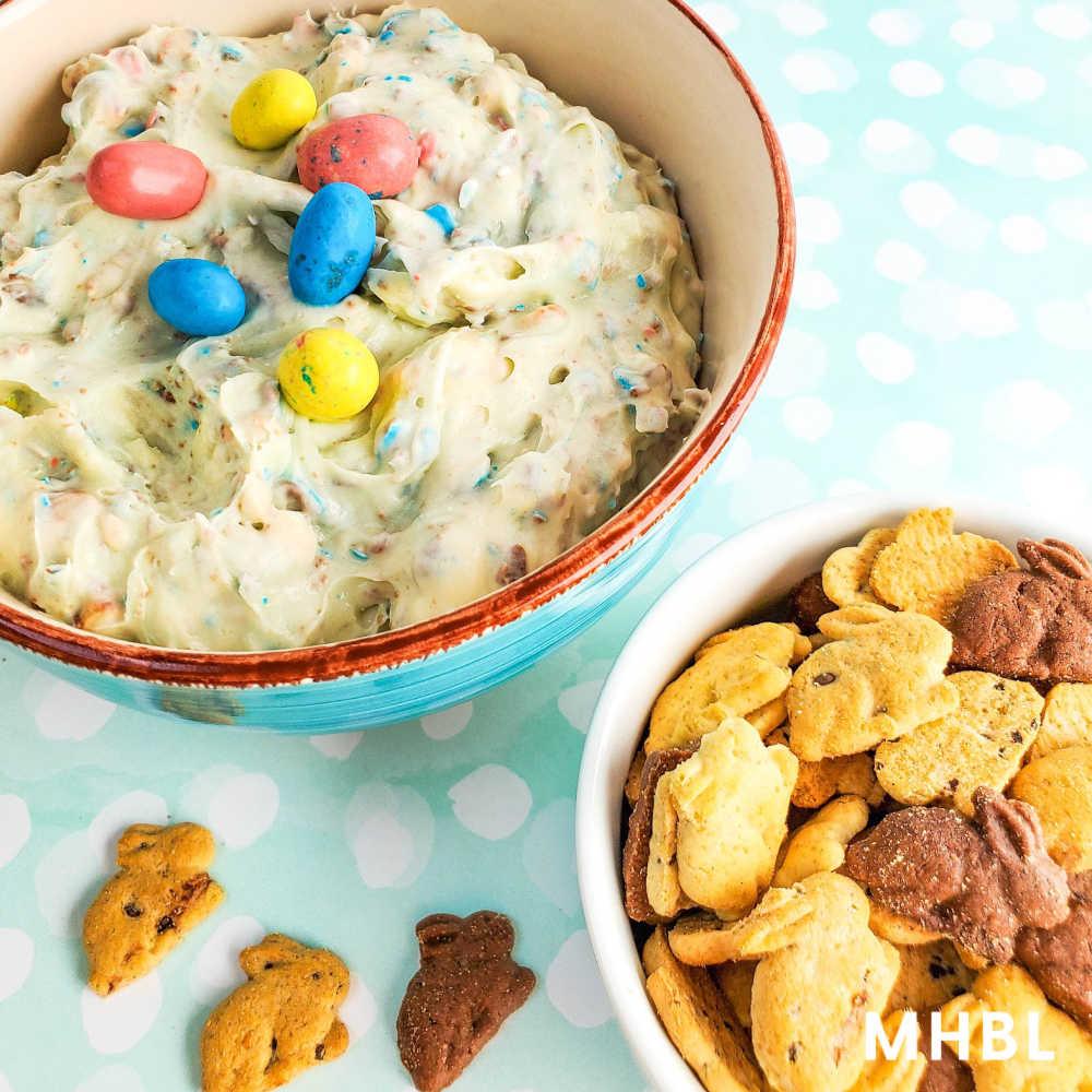 Easter cookie dip dessert recipe