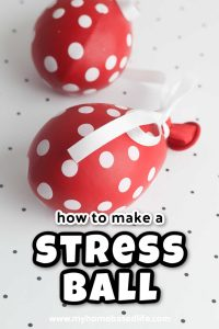easy DIY stress ball