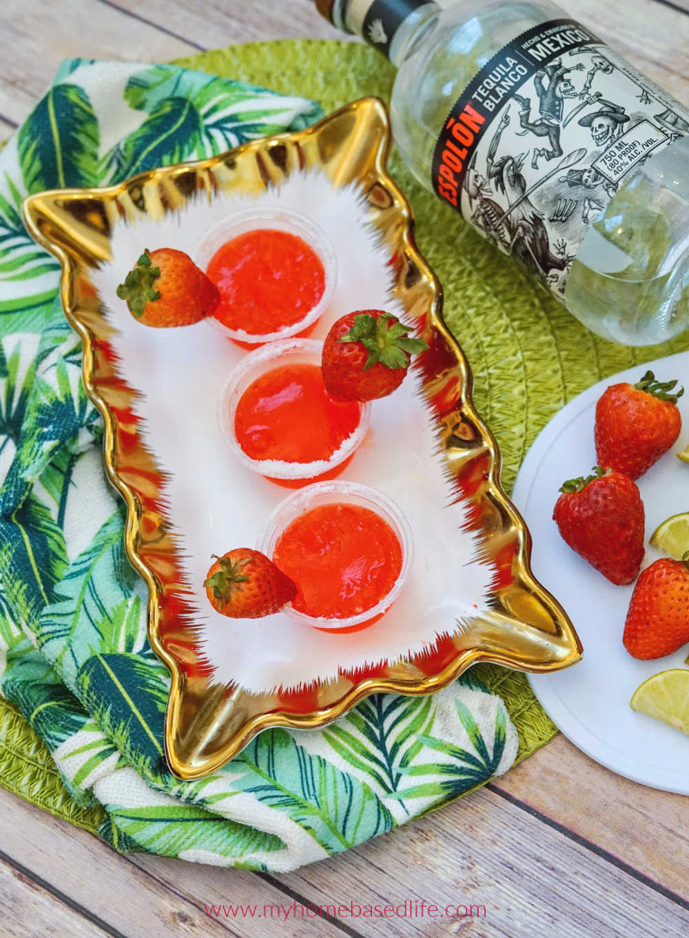 Strawberry Margarita Jello Shots My Home Based Life