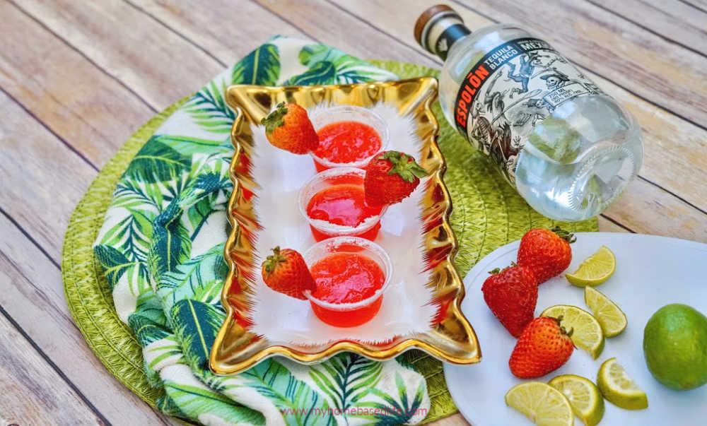 easy margarita jello shot recipe