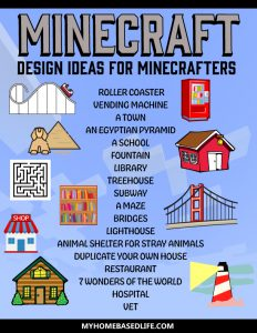Minecraft design ideas