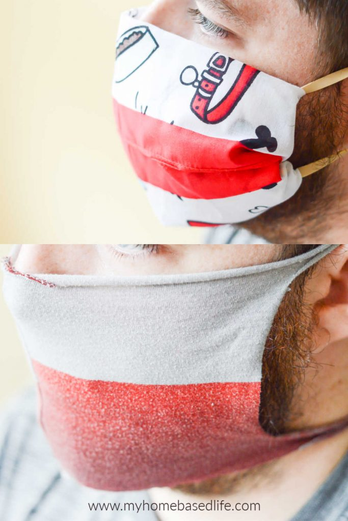 two ways to make a no sew face mask using items you have at home