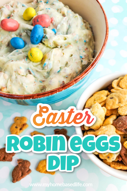 Easter Robin Eggs cookie dip recipe