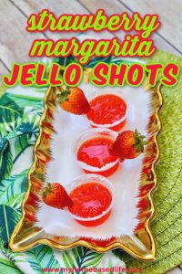 strawberry margarita jello shot recipe