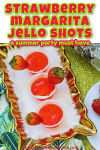 strawberry margarita jello shot recipe to make