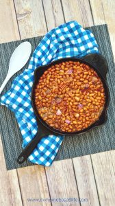 easy baked bean recipe