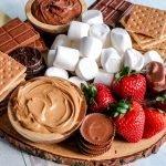 s'more dessert board