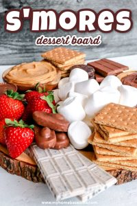 s'more dessert board idea