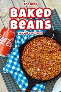 Coca Cola baked bean recipe
