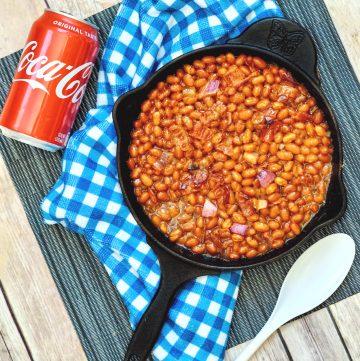 Coca Cola baked beans recipe