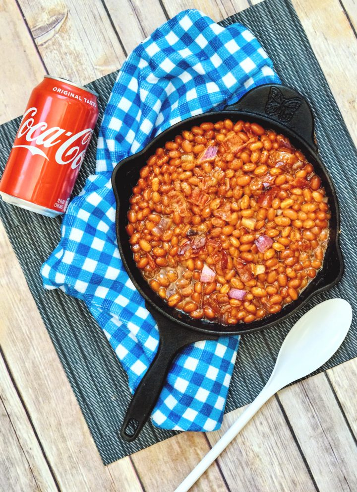 Coca Cola baked beans recipe