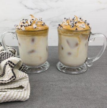 cookies and cream Dalgona Coffee