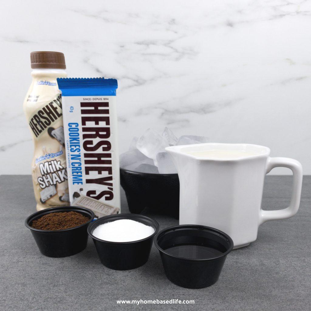 cookies n cream coffee ingredients