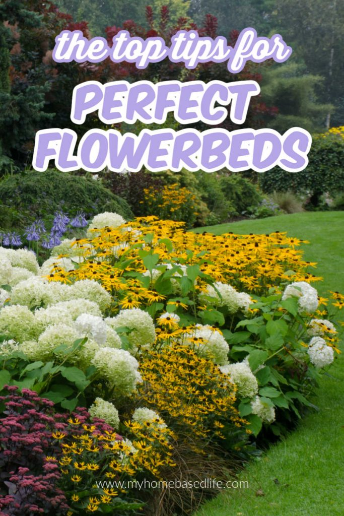 tips for perfect flowerbeds