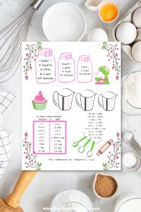 kitchen conversions free printable kitchen cheat sheet tool