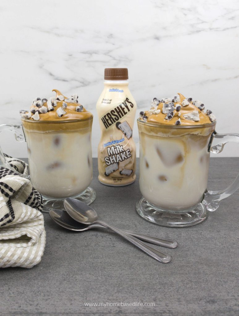 whipped coffee dessert drink