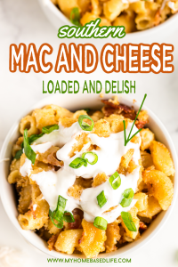 baked loaded Mac and cheese a rich and creamy baked macaroni and cheese recipe