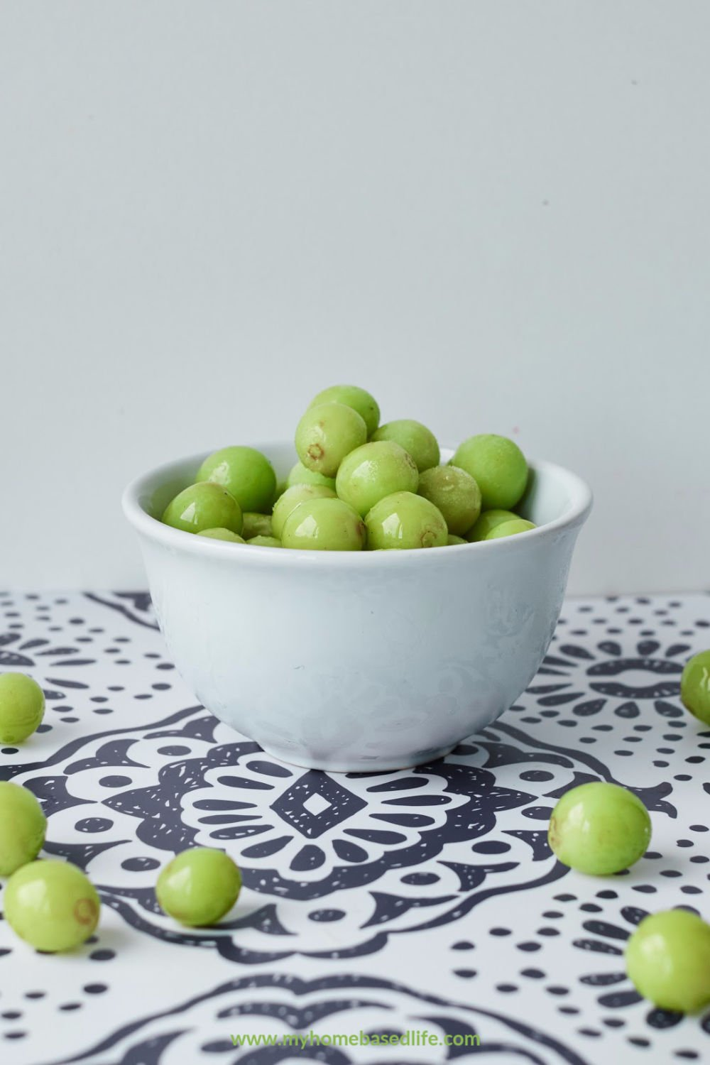frozen grapes recipe