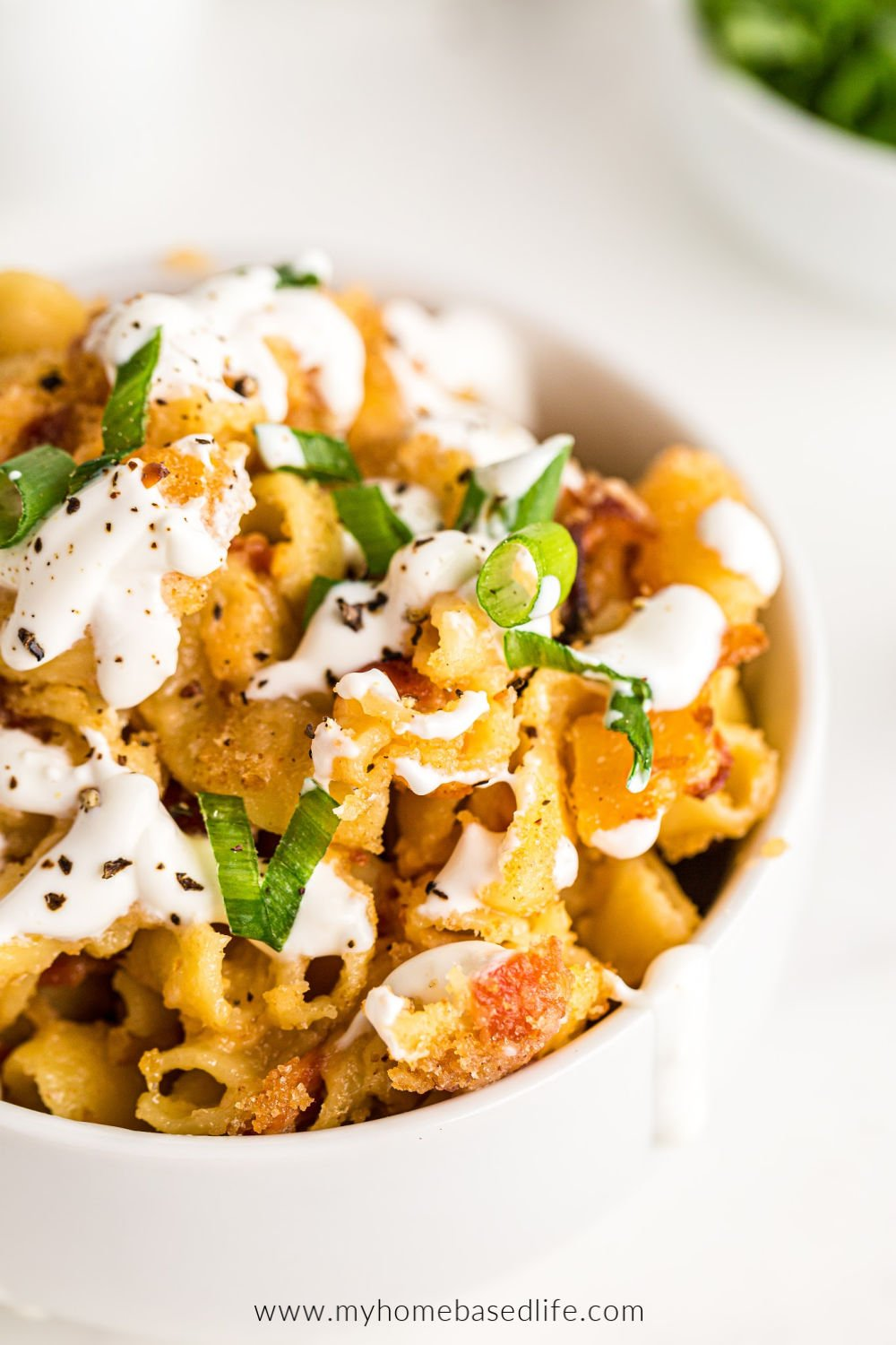 southern Mac and cheese loaded with flavor