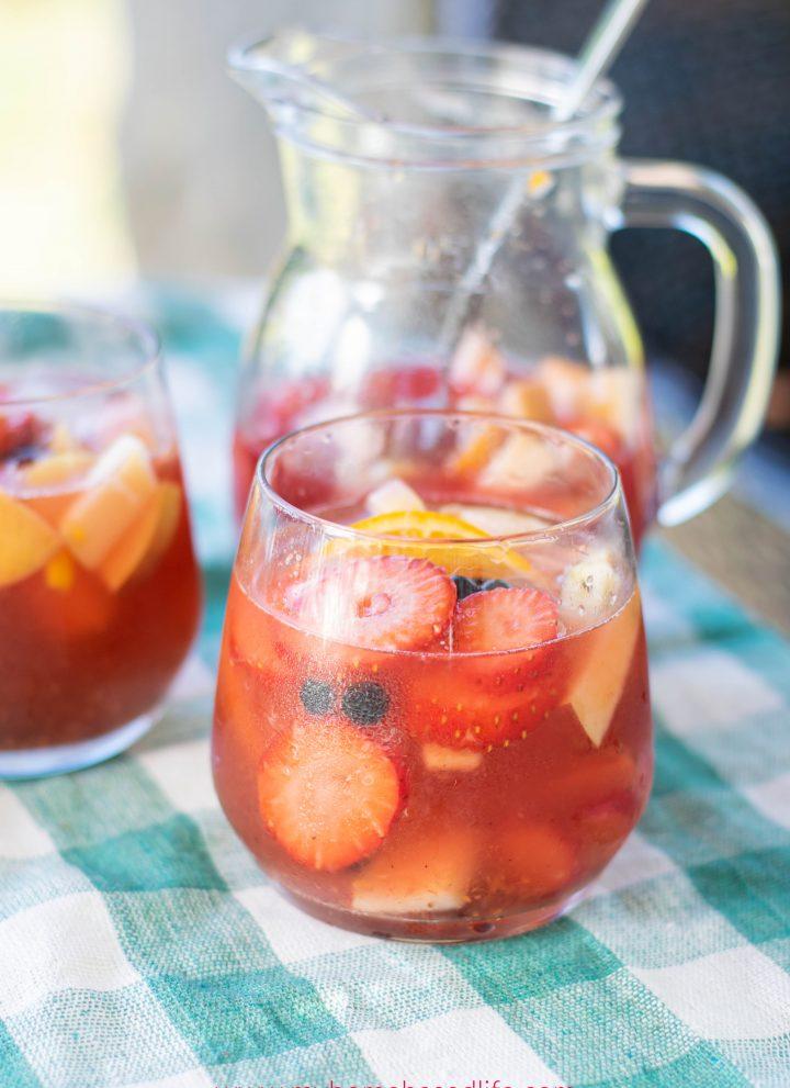mango rosé sangria recipe