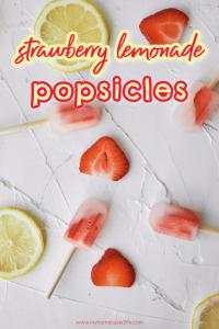 strawberry lemonade popsicle recipe