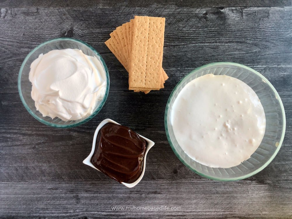 s'more cake ingredients