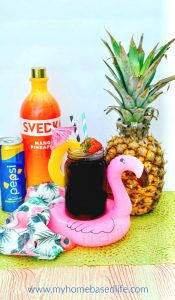 tropical Pepsi cocktail
