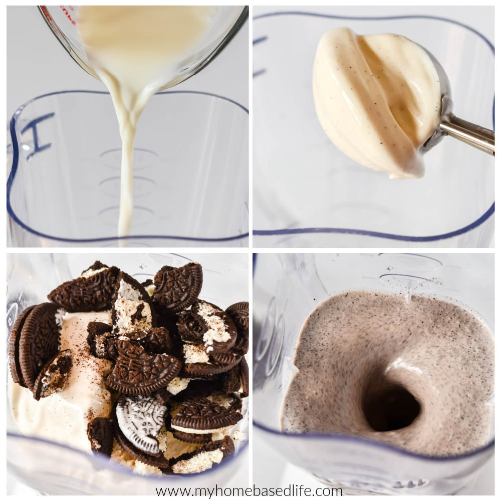 how to make a cookies and cream milkshake