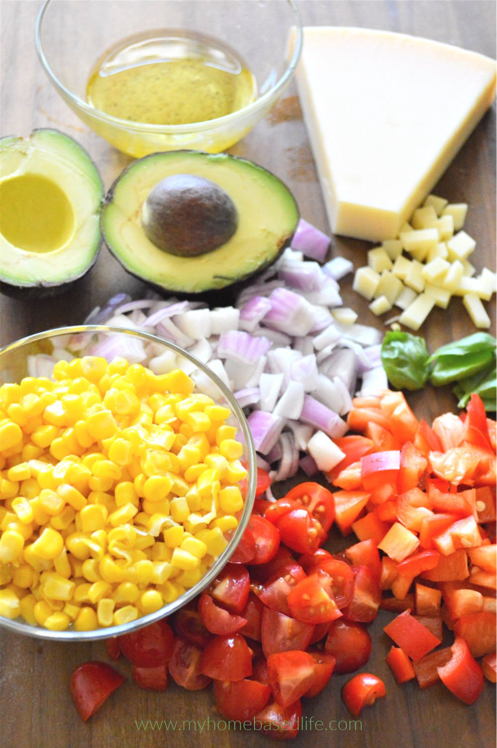 easy pasta salad recipe ingredients